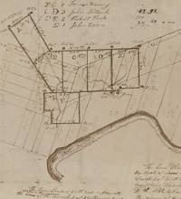 MANUSCRIPT MAP AND SURVY OF LAND FORMERLY OF THE SUSQUEHANNA COMPANY AND PART OF THE CONNECTICUT LAND CLAIMS IN NORTHMORLAND TOWNSHIP.