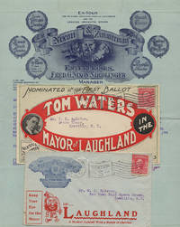 Small packet of material relating to Tom Water's piano-comedy, The Mayor of Laughland