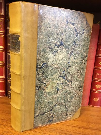 London: Edward Harding, 1803. First Edition. Hardcover. Small octavo rebound in 3/4 green marble and...
