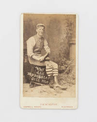 'Why did my master sell me?' [the caption on a studio portrait with attitude] by  Thomas W. (photographer) [Photography] [Racial Stereotyping] McALPINE - Hardcover - 1880 - from Michael Treloar Antiquarian Booksellers (SKU: 119607)