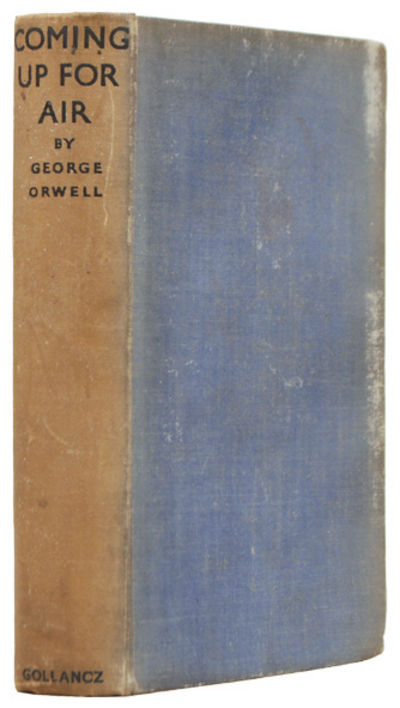 an overview of the novel coming up for air by george orwell George orwell's dystopian novel  (george orwell) published novel in  retreat preemptive counterattack invasion air support civilian casualities.