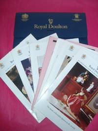 ROYAL DOULTON LEAFLET CASE/WALLET Including NUMEROUS LEAFLETS AND PRICE LISTS,  PRESTIGE FIGURESM CHARACTER FIGURES ETC. 1993