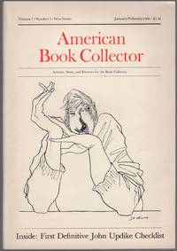 American Book Collector: Volume 1, Number 1, New Series, January/February 1980