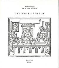 Cahiers Élie Fleur No.17-18 / 1998