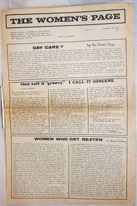 The Women's Page. Number 2. November 18, 1970