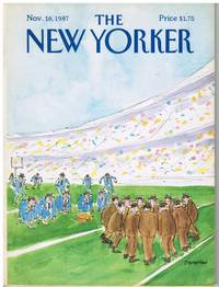 image of NEW YORKER: COVER FOOTBALL by JAMES STEVENSON