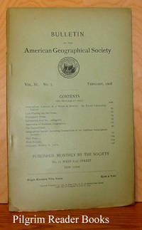 Bulletin of the American Geographical Society: Volume XL, Number  2, February 1908