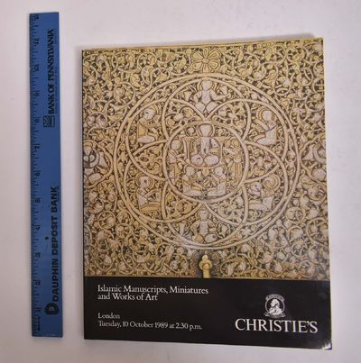 London: Christie, Manson & Woods, 1989. Paperback. VG- scuffing to wraps, light wear to edges and co...