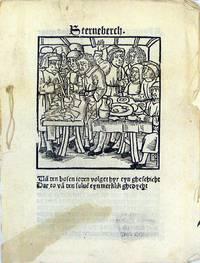 Geschichte der Juden zu Sternberg mit dem Sakrament [Low German] (S)terneberch. Ua den bosen...