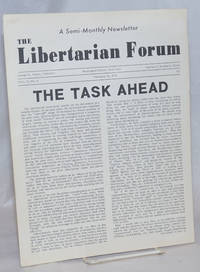 image of The Libertarian Forum; Volume 2 Number 4, February 15,1970