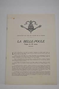 BELLE (La) Poule. Frégate de 1er rang de 60 bouches à feu.  1834. Monographie...