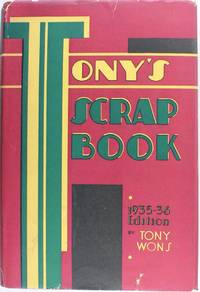 image of Tony's Scrap Book 1935-36 Edition