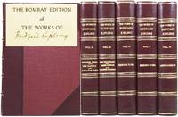 The Bombay Edition of the Works of Rudyard Kipling. [Set of writings / novels / poems including:...