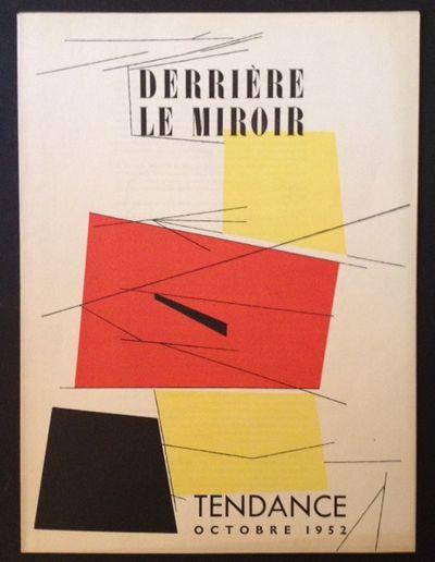 Paris: Maeght Editeur, 1952. Original Wraps. Collectible; Fine. 1952 1st edition of issue #50 of