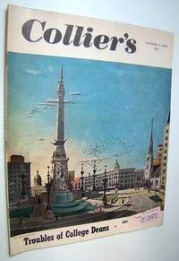 Collier's, The National Weekly Magazine, October 1, 1949 - Paul (Dreamboat) Douglas / Boater Bob Lane by  Bert K  Enid Sims; Gilden - Paperback - First Edition - 1949 - from RareNonFiction.com (SKU: 534G1549)