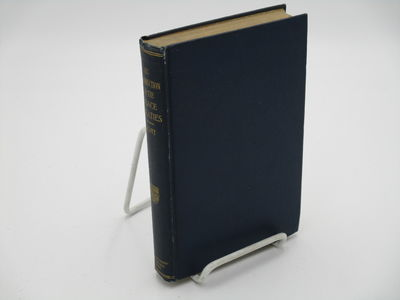 Chicago.: The University of Chicago Press., 1920 . 1st edition.. Blue cloth, gilt spine title. . Ver...