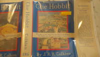 Hobbit or There & Back Again, The (1938) 1st U.S. EDITION 2ND ISSUE of J. R. R. Tolkien Masterpiece Set in Middle Earth, with FACSIMILE of Original Dustjacket Designed By Tolkien, as Found on the Original UK Editions with Blurb from London Times on Front.