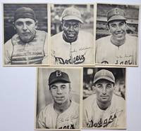 image of Brooklyn Dodgers Player Picture Packs for the Years 1941, 1942, 1946, and 1947