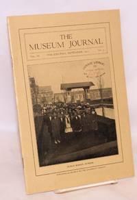 The museum journal volume III no. 3, September 1912. Public school number