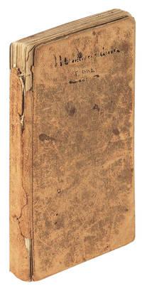 Handwritten Ledger / Receipt Book (1865 - 1879)