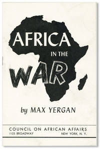 Africa in the War [cover title]