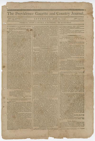 George Washington�s Famous Letter...