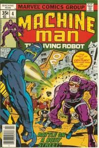 MACHINE MAN The Living Robot: July #4