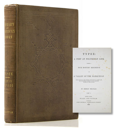 New York: Wiley and Putnam, 1846. First American edition. Frontispiece map. , ,xv,, -166; ,-325, ; -...