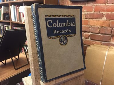 New York: Columbia Graphophone Company, 1919. PAPERBACK. Good. Covers have moderate wear with a 1 in...