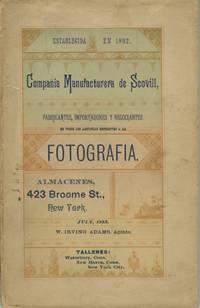 COMPAÑIA MANUFACTURERA DE SCOVILL, FABRICANTES, IMPORTADORES Y NEGOCIANTES EN TODOS LOS ARTICULOS REPERNTES A LA FOTOGRAFIA