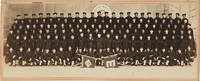 [PANORAMIC PHOTOGRAPH OF AN AFRICAN-AMERICAN NAVY COMPANY TRAINING FOR WORLD WAR II]