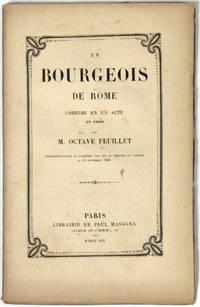 Un bourgeois de Rome, comédie en un acte, en prose