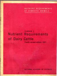 image of NUTRIENT REQUIREMENTS OF DAIRY CATTLE