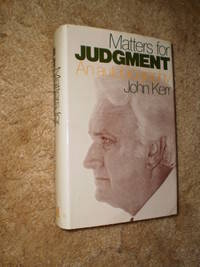 Matters for Judgement - First Edition 1978