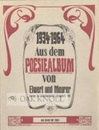 Berlin: Elwert und Meurer, 1964. paper wrappers. Elwert Und Meurer. 8vo. paper wrappers. 16 french-f...