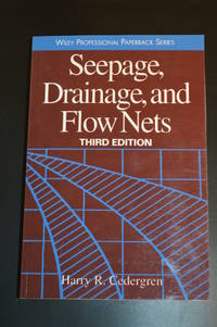 image of Seepage, Drainage, and Flow Nets (Publisher series: Wiley Professional Paperback Series.)