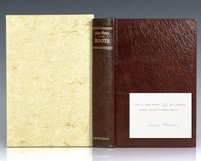 Garden City, NY: Doubleday & Company, Inc, 1976. Signed limited first edition of Haley's classic wor...