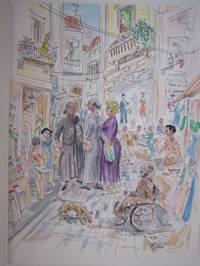 "image of Original Artwork Entitled ""Street in Rota, Spain"""