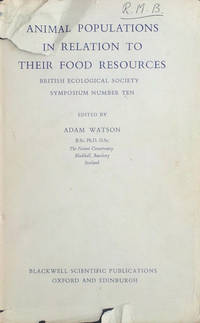 Animal populations in relation to their food resources