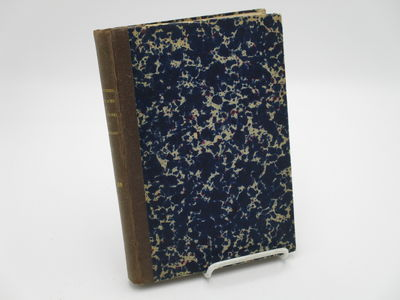 Bern & Leipzig.: K. Schmid. , 1879, 1880. Quarter brown stippled cloth over marbled boards. . Pages ...