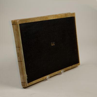 Milano: Giovanni Ricordi , 1855. Oblong folio. Vellum-backed and edged boards with dark brown cloth ...