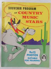 image of Souvenir Program of Country Music Stars
