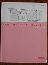 Contemporary Theatre Review Volume 18 issue 2 May 2008