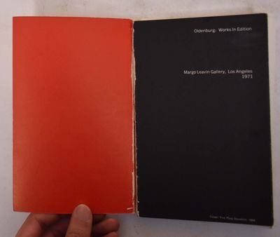 Los Angeles: Margo Leavin Gallery, 1971. Softcover. Good (sticker residue on back cover, binding loo...