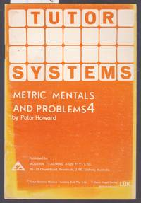 image of Tutor Systems : Metric Mentals and Problems 4 : For Use with  Tutor Systems Tile Pattern Board