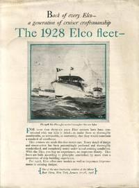 THE 1928 ELCO FLEET. [Promotional Manufacturer's Sales Pamphlet - Trade Catalog]