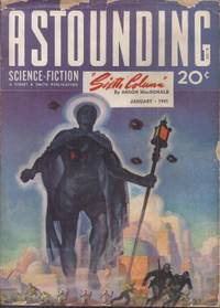 """image of ASTOUNDING Science Fiction: January, Jan. 1941 (""""Sixth Column"""" - Vt. """"The Day After Tomorrow"""")"""