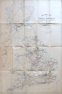 Railway Map of Great Britain Compiled from the Plans Deposited According to the Standing Orders...