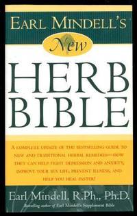 image of EARL MINDELL'S NEW HERB BIBLE