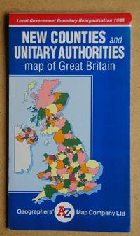 New Counties and Unitary Authorities Map of Great Britain.